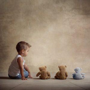 sesión fotografía infantil