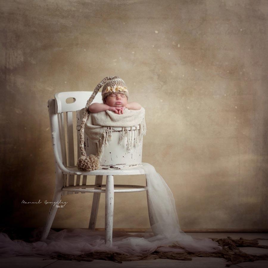 Sesión de Fotografía Infantil blanca