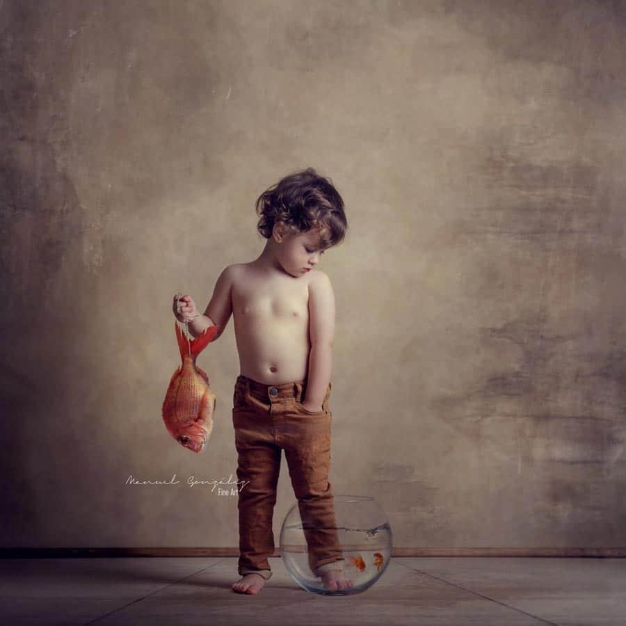 Sesión Fotografía Infantil vega