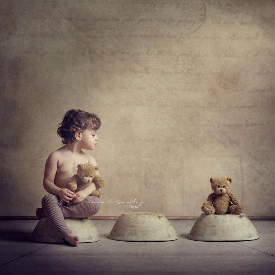 sesión de fotografía infantil vega