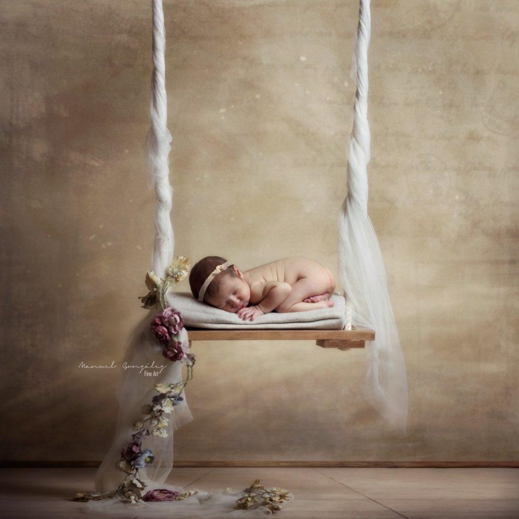 Sesión Fotografía Newborn Blanca