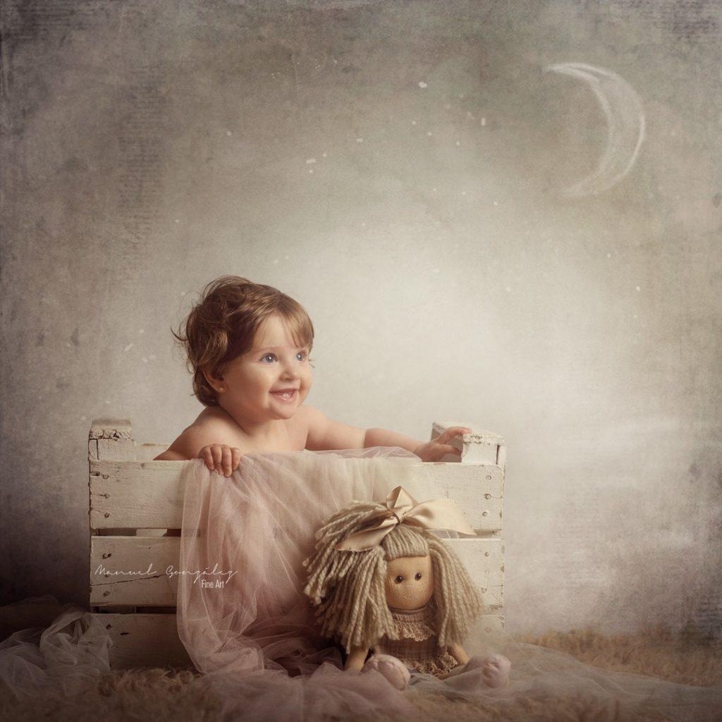 sesión de fotografía infantil Valentina