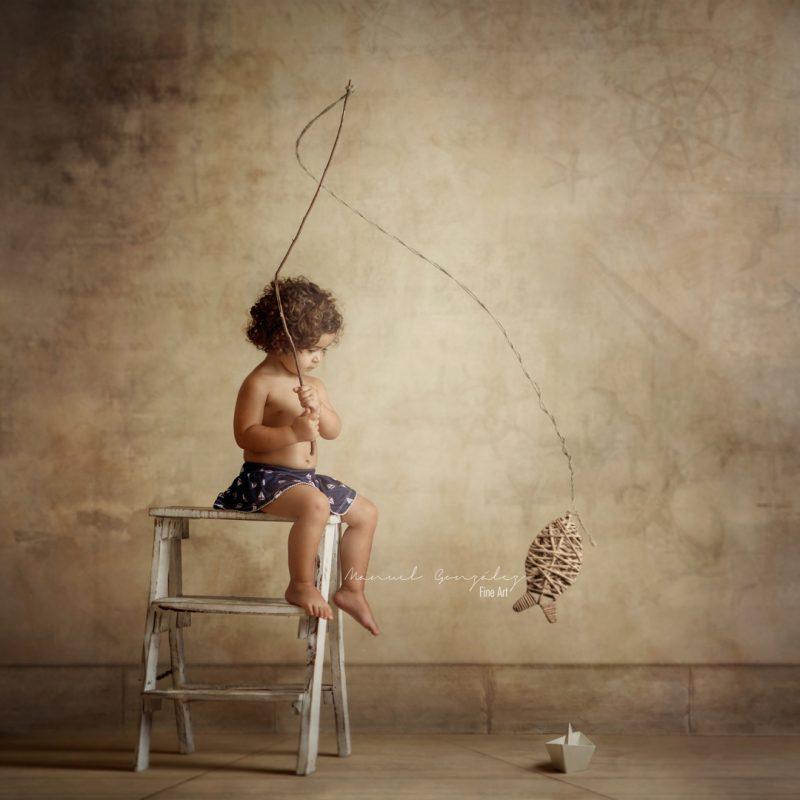 fotografía infantil Manuel González